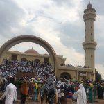 Gaddafi national mosque on eid aldhua, May Allah's blessings be with you today and always. Eid U