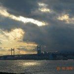 Dusk view of Gwangan bridge