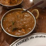 Kadai Chicken cooked with capsicum, onions and tomatoes. Finished with fresh coriander.