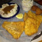 Friends haddock dinner