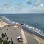 Vista de la playa (piso 16)