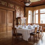 The dining room of pharmacist J.A. Øwre (Photo: Kristin Støylen)