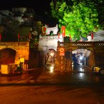 Old City Gates at night