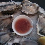 Fresh French oysters