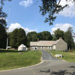 Ample parking; beautiful grounds