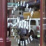 Window Sign of Restaurant