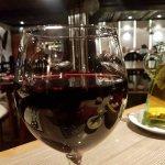 Generosas cops de vino