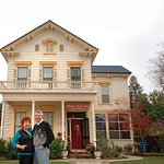 Owners and Victorian Home of Sheriff Harkey built in 1874 Historical neighborhood
