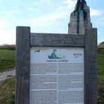 Latham statue, Halfway between Cap Blanc Nez and Sangatte