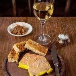 foie gras de canard maison et ses toasts