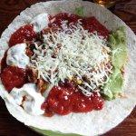 BBQ Chicken Burrito