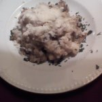 Risotto Funghi with parm cheese
