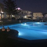 Fragiskos Hotel by night!
