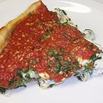 spinach & cheese specialty deep dish!