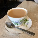 Can't beat tea in a china cup!