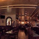 Inside The James Joyce Irish Pub. A little bit of Ireland in Madrid.