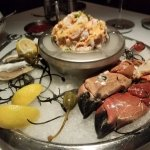 Seafood platter for two ($36)