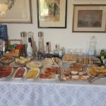 Great breakfast full of lovely local products