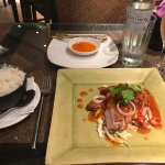 Zen Garden Thai Restaurant - Spicy duck dish - amazing