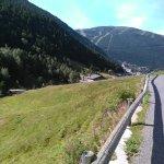 Près de l'hôtel le vall d'Incles (Soldeu) Andorre, magnifique promenade pour petit et grand.