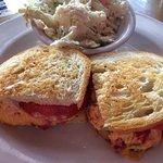 The perfect pimento cheese sandwich