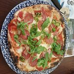 Thin and crispy pizza from Wetherspoons