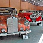 Inside the car museum