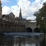 Pulteney Bridge - worth seeing, and there's a good story behind it!