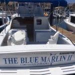 The Blue Marlin II in the dock.
