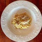Spaghetti Carbonara. Vera Romana.