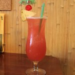 Singapore Sling at The Banana Hut, Eureka, California