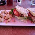 Lobster BLT on sourdough bread...FANTASTIC