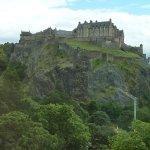 Daytime Room View of the Edinburgh Castle