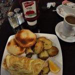 eggs, potatos, coffee... my favourite.