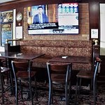 bar, tables, stools, chars, booths, whatever your preference, they accommodate.