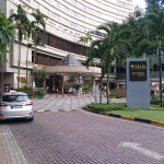 Hotel Driveway.