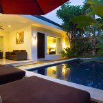 Swimming Pool & living area of 3 BR Villa