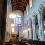 Looking towards the west into the nave