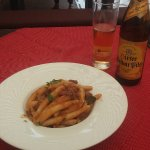 Homemade pasta shurlice with goulash