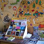 Lots of tourist information in our reception