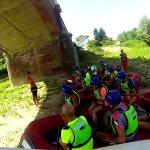 lezione e via lungo il fiume