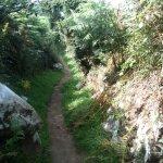 Sentier côtier pour des randonnées sympas