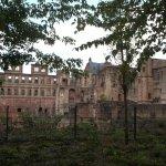 Castillo parte en ruinas pero lo que queda muy interesante de ver