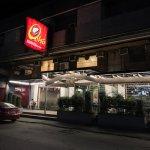 Facade of the restaurant