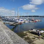 Mylor Harbour from keyside in front of Castaways