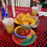 Start with chips and salsa