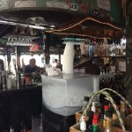 Ahh, Key West... not even 11AM and we have a full bar overlooking the marina. There is a heaven.