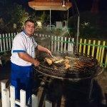 Barbecue/grillades pratiquement tous les soirs