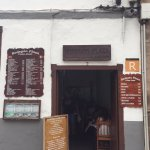The place is local, rustic style and serves 'local' food,
