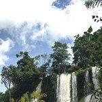 Dai Yem waterfall in rainy season.